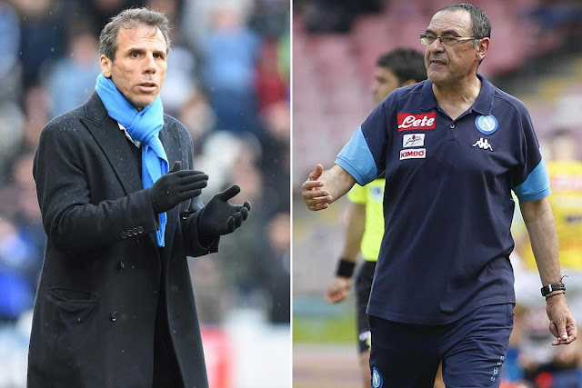 EPL: Chelsea close to appointing Sarri, Zola
