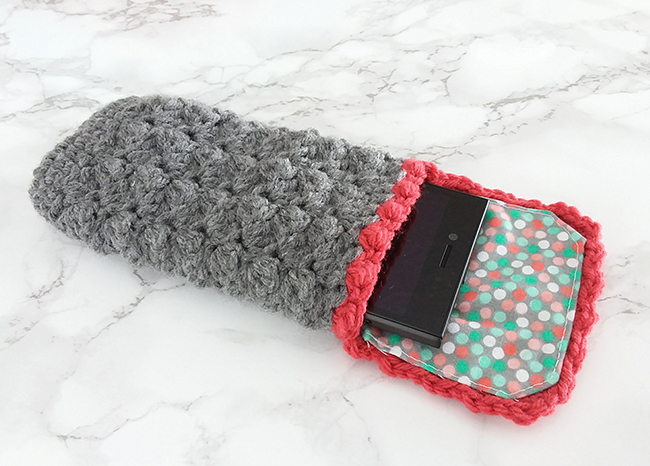 Free Crochet Pattern | Phone case | Phone cover | Phone Cosy | yarn | DIY |