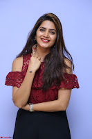 Pavani Gangireddy in Cute Black Skirt Maroon Top at 9 Movie Teaser Launch 5th May 2017  Exclusive 054.JPG
