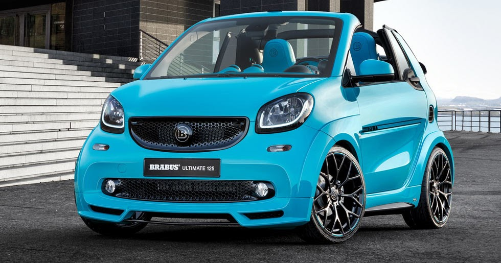 we kid you not new smart brabus ultimate 125 costs as much as a porsche 718. Black Bedroom Furniture Sets. Home Design Ideas