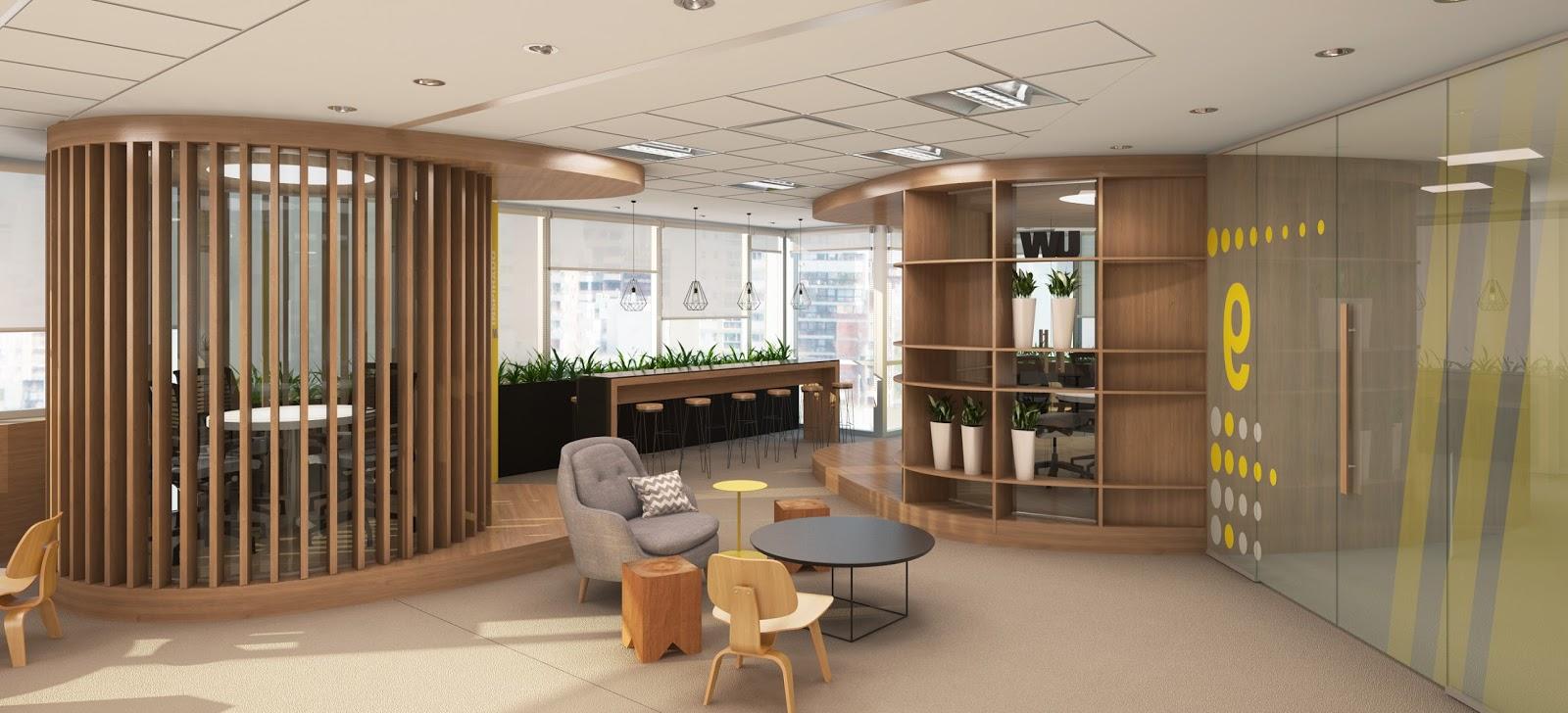 Renders arquitectura render interior for Interior oficina