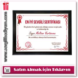 kişiye özel sertifikalar