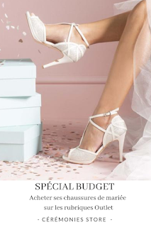 chaussures de mariée de marques outlet et fin de séries blog mariage unjourmonprinceviendra26.com