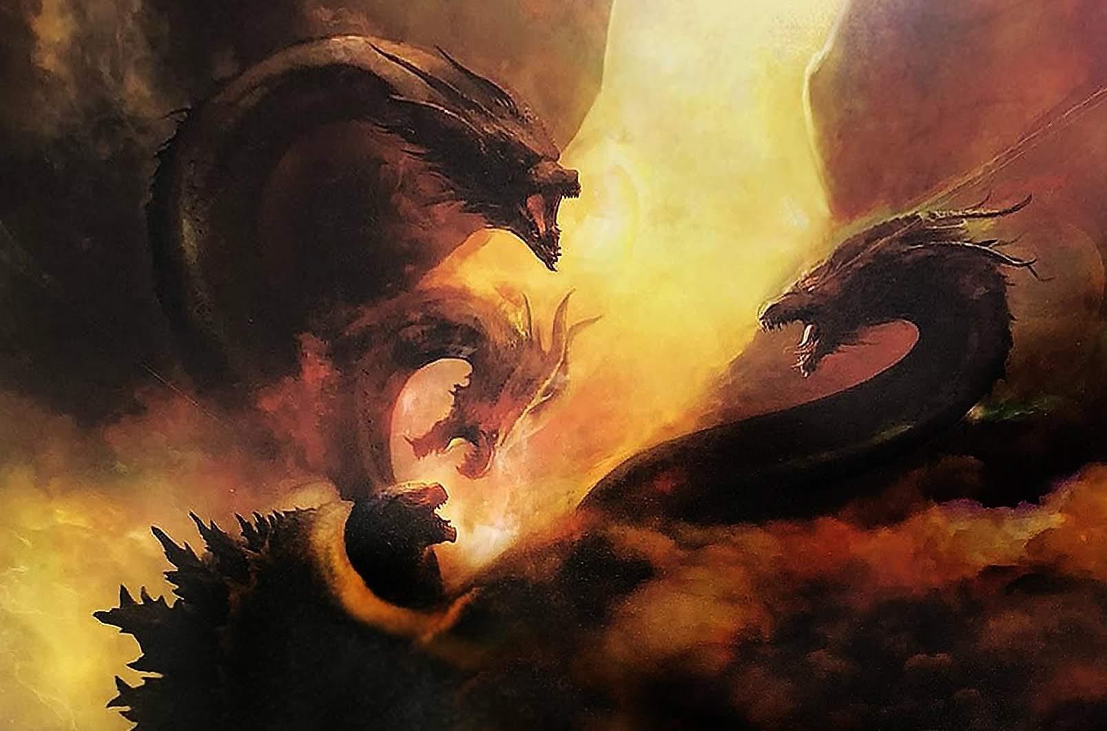 Godzilla : 宇宙超怪獣のキングギドラが襲ってきた ! !、ハリウッド版「ゴジラ」の第2弾「キング・オブ・ザ・モンスターズ」が、明日の新しい予告編のリリースに向けて、新たにチラ見せ ! !