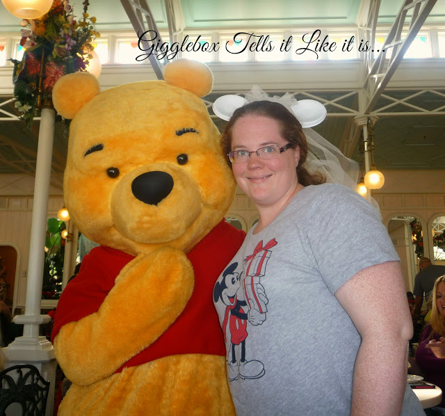 Walt Disney World vacation, character meal, Crystal Palace, Winnie the Pooh and his 100 Acre Woods Pals,