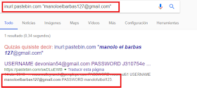 Gmail Pastebin