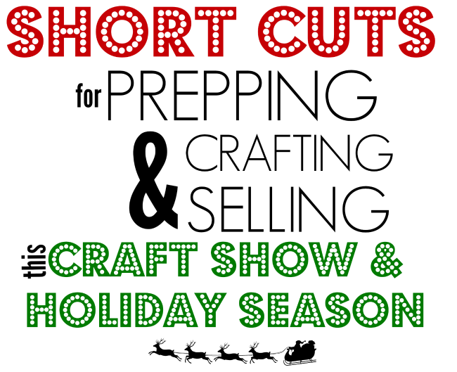 craft fair tips trick and shortcuts for Silhoeutte crafters