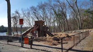 DelCarte playground - closed for repairs scheduled for the end of April