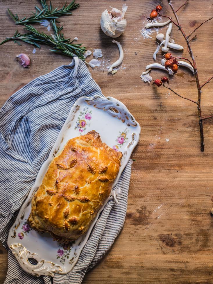 La cocina de carolina solomillo wellington receta de navidad for Como preparar solomillo