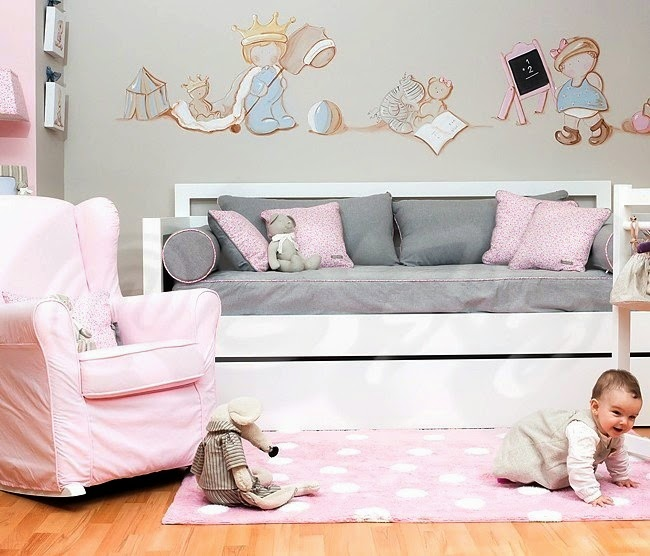 siluetas habitacion bebes