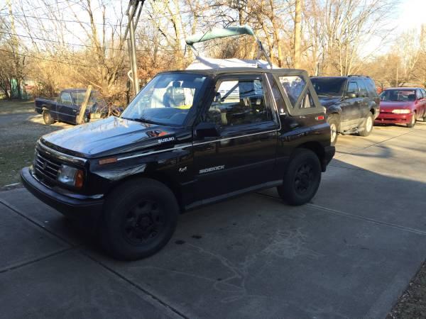 1989 Suzuki Sidekick 2-Door 4x4 For Sale
