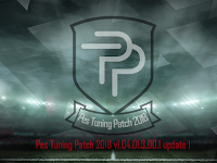 Update Patch PES 2018 Terbaru dari PES Tuning Patch V1.04.01.3.00.1 update 1