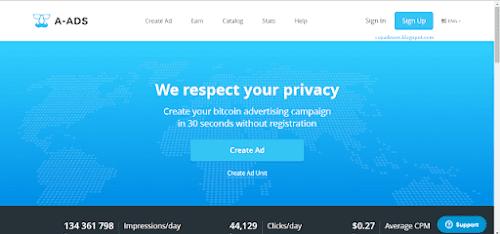 Cara Memasang Iklan Anonymous ADS Pada Website