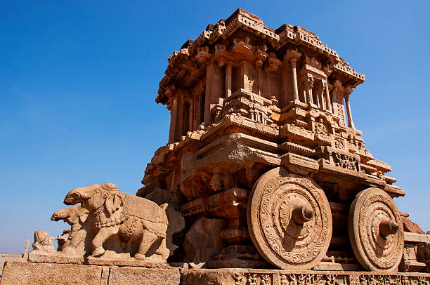 The Stone Chariot at Hampi