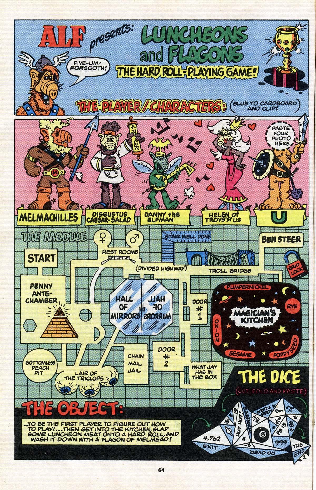 Read online ALF comic -  Issue # _Annual 3 - 57