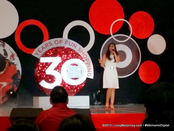 Morissette Amon At SM AT 30
