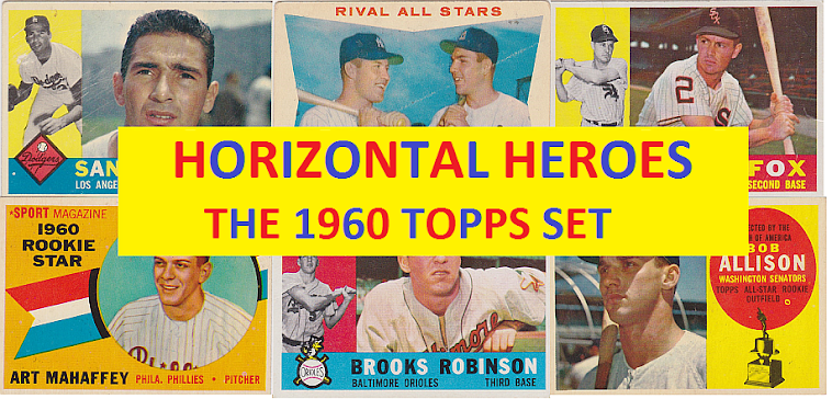 Horizontal Heroes: The 1960 Topps Set