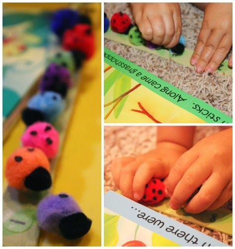 preschool 10 little ladybugs counting activity