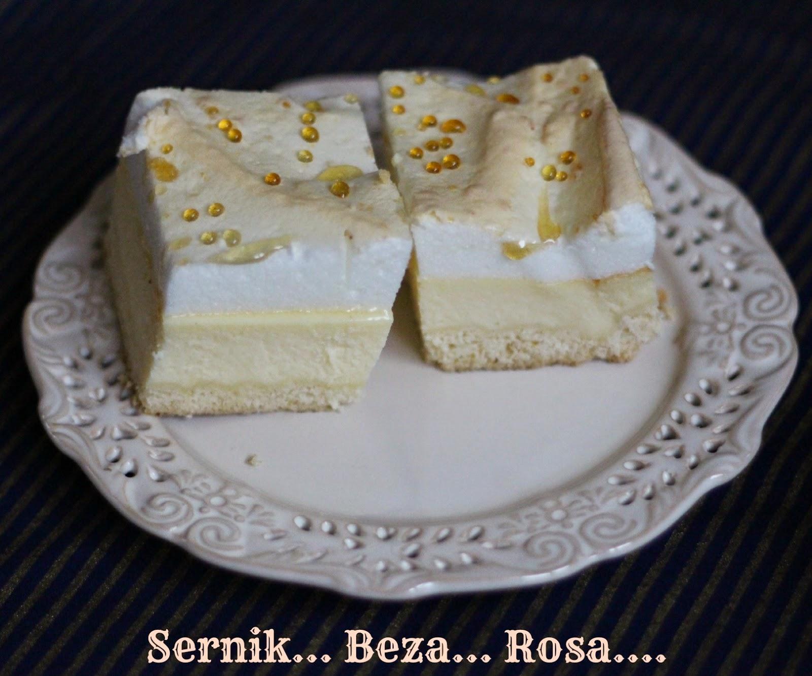 Sernik z rosą (i jego tajemnica).
