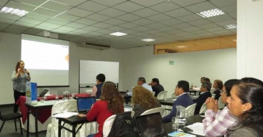 MINEDU capacita a especialistas de educación en respuesta frente a emergencias en Lambayeque