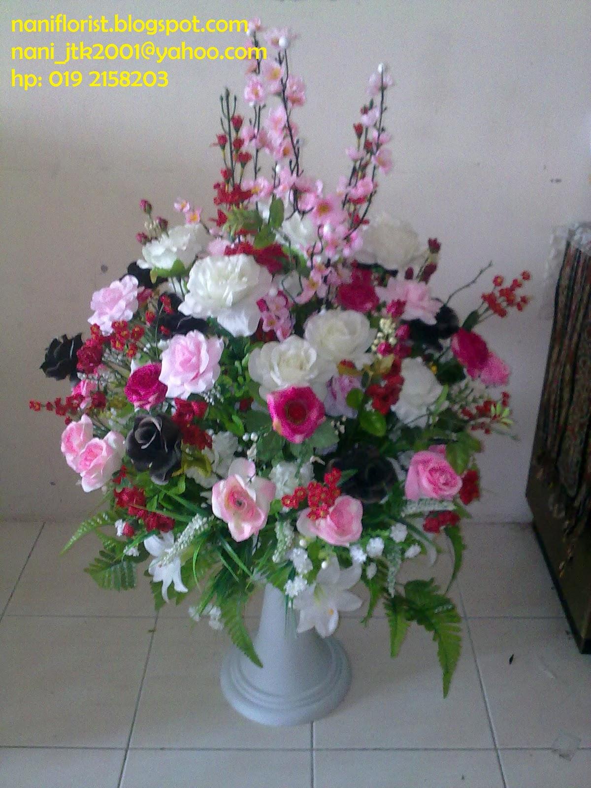 Nani Florist GUBAHAN BUNGA STOKIN ARTIFICALBUNGA TELOR