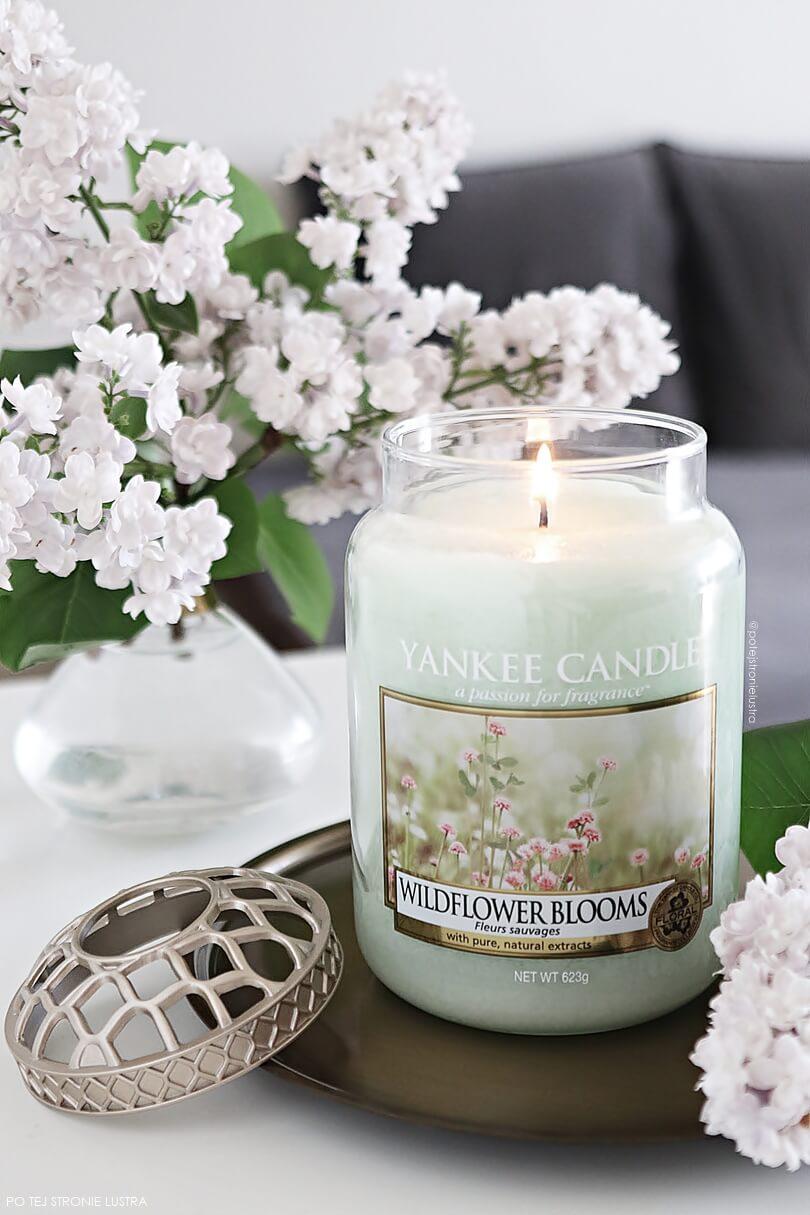 yankee candle duża świeca zapachowa wildflower blooms