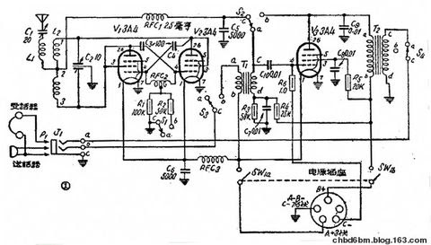 Circuit Portable émetteur-récepteur radio et la production