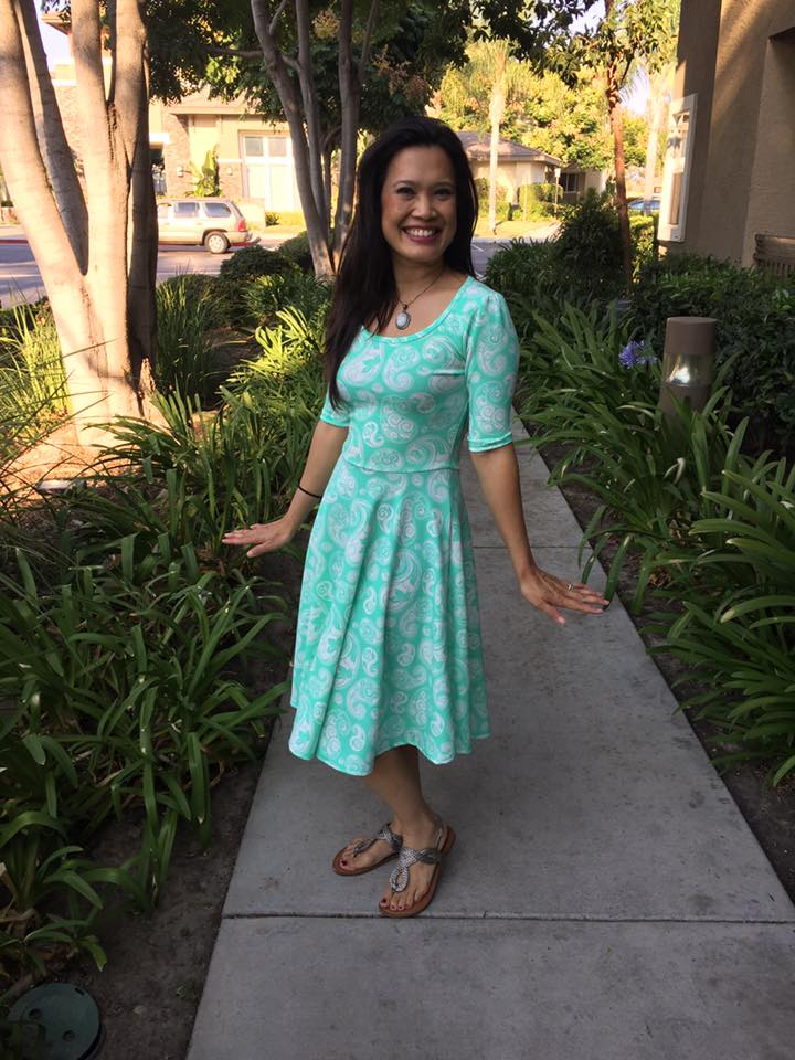 e4a0af86e24 These pretty dresses are from another consultant LulaRoe Charm.
