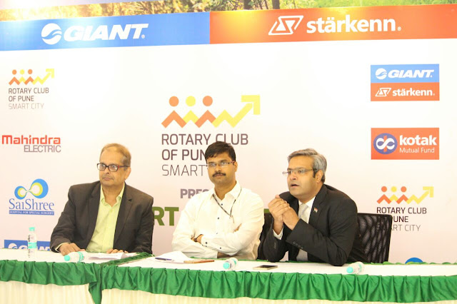 Giant Starkenn and Rotary Club of Pune Smart City along with Kotak Mutual Fund to organize CYCLOTHON in Pune