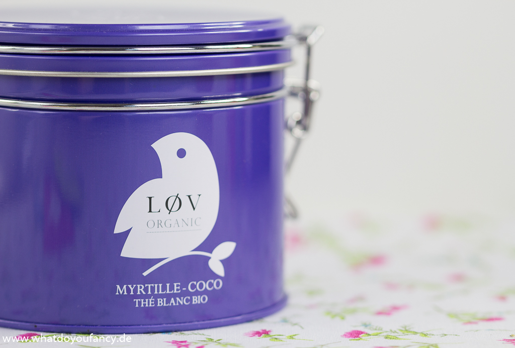 Muttertag Lov Organic Weißer Tee Kokos-Blaubeere