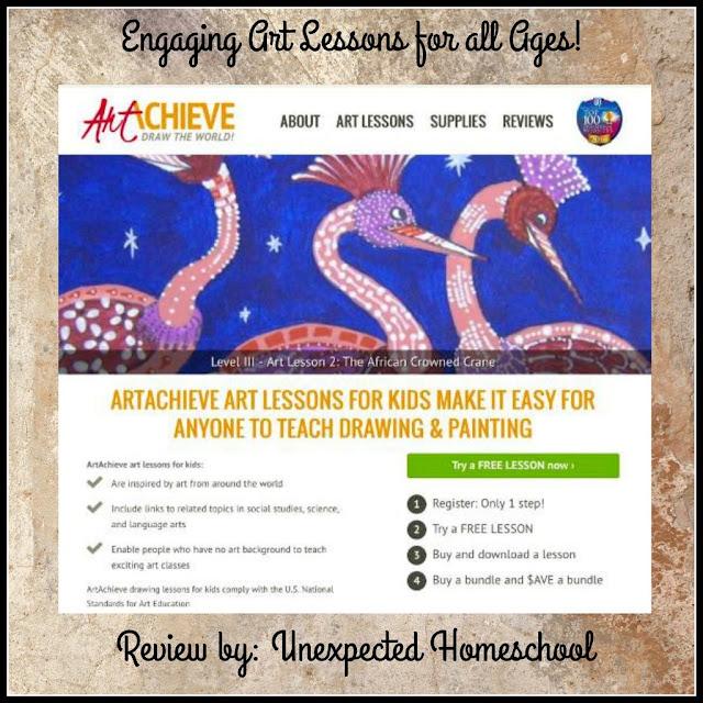 ArtAchieve online drawing lessons!