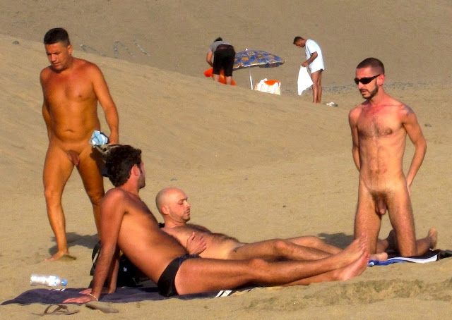 Nude canary beaches islands