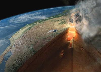 imagen ilustrativa del fondo de un volcàn