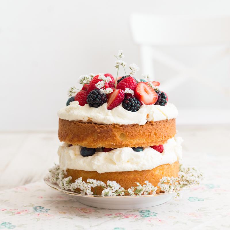Sponge cake, Entre Harinas