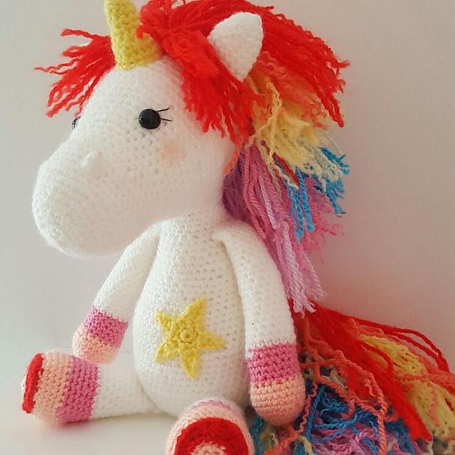 Amigurumi Unicorn Crochet Pattern (PDF)
