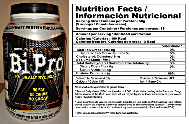 info nutricional BiPro UPN
