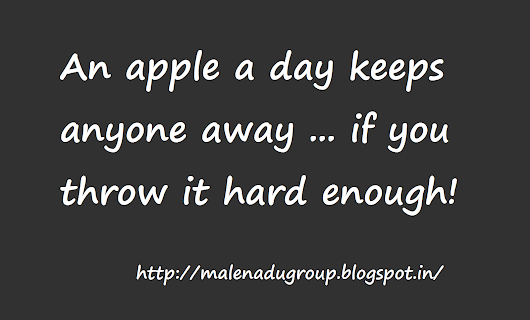 Funny Quotes on Apple.