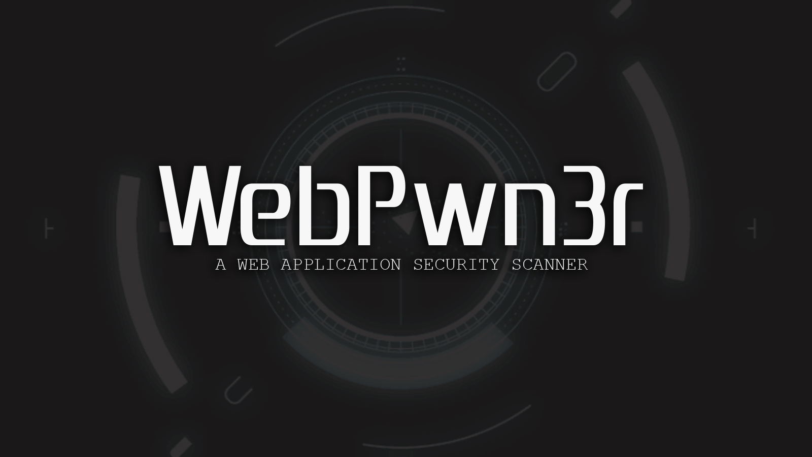 WebPwn3r - A Web Application Security Scanner