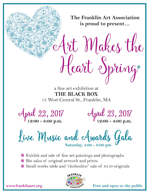 """Art Makes The Heart Spring"" - Apr 22-23"