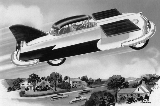 Atomic Flying Car