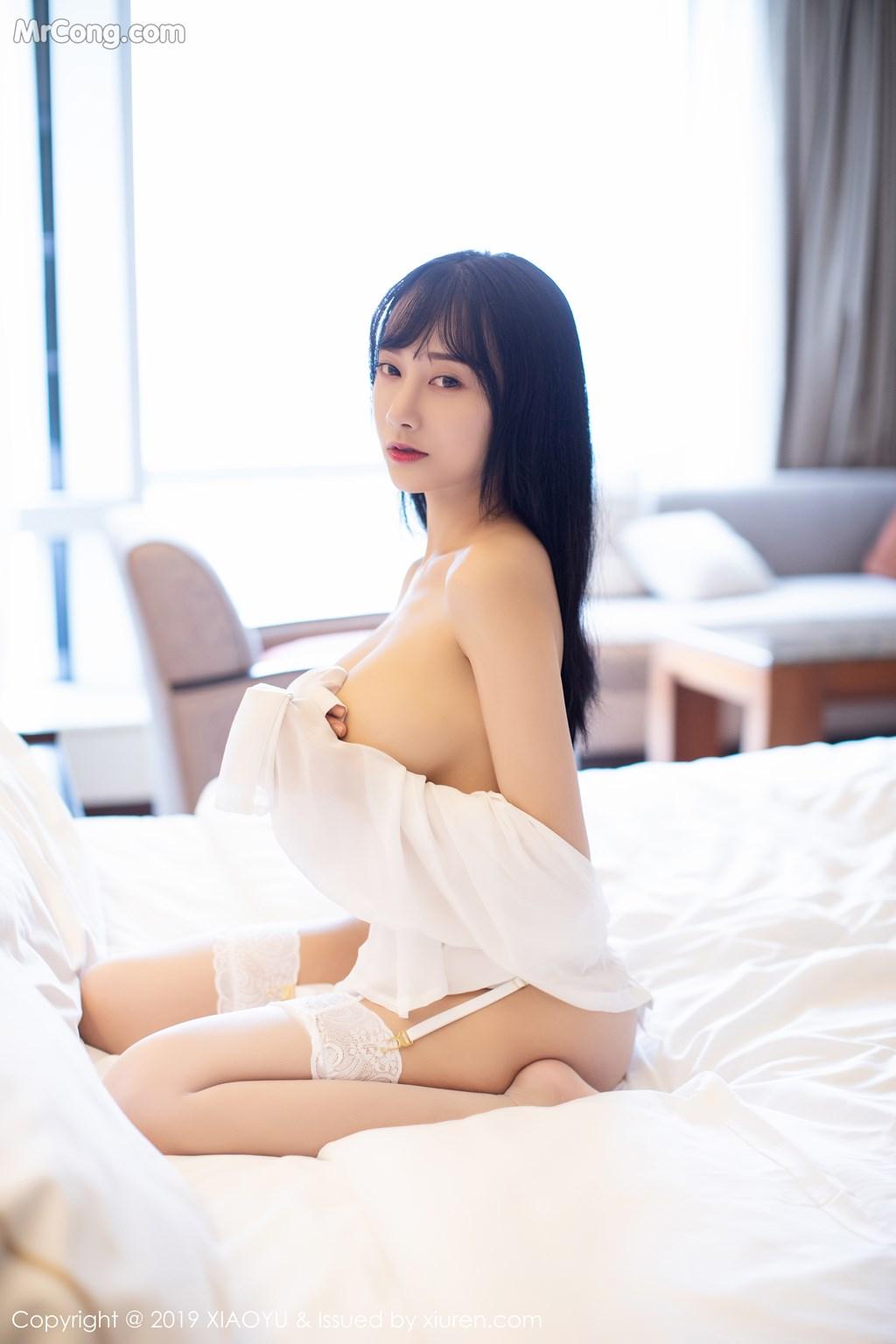 Image XiaoYu-Vol.076-He-Jia-Ying-MrCong.com-069 in post XiaoYu Vol.076: He Jia Ying (何嘉颖) (72 ảnh)