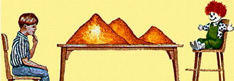 Drei Berge Versuch
