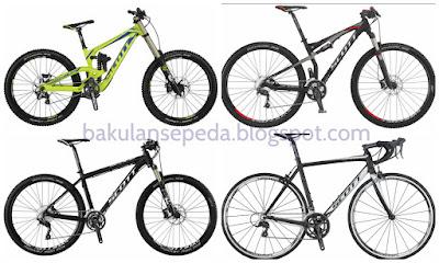 Daftar Harga Sepeda Scott Semua Tipe Ukuran Terlengkap Terbaru