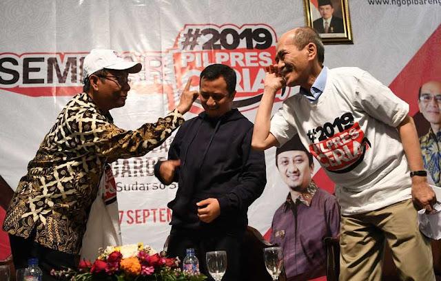Gerakan #2019PilpresCeria Diluncurkan, Ini Kata Mahfud MD