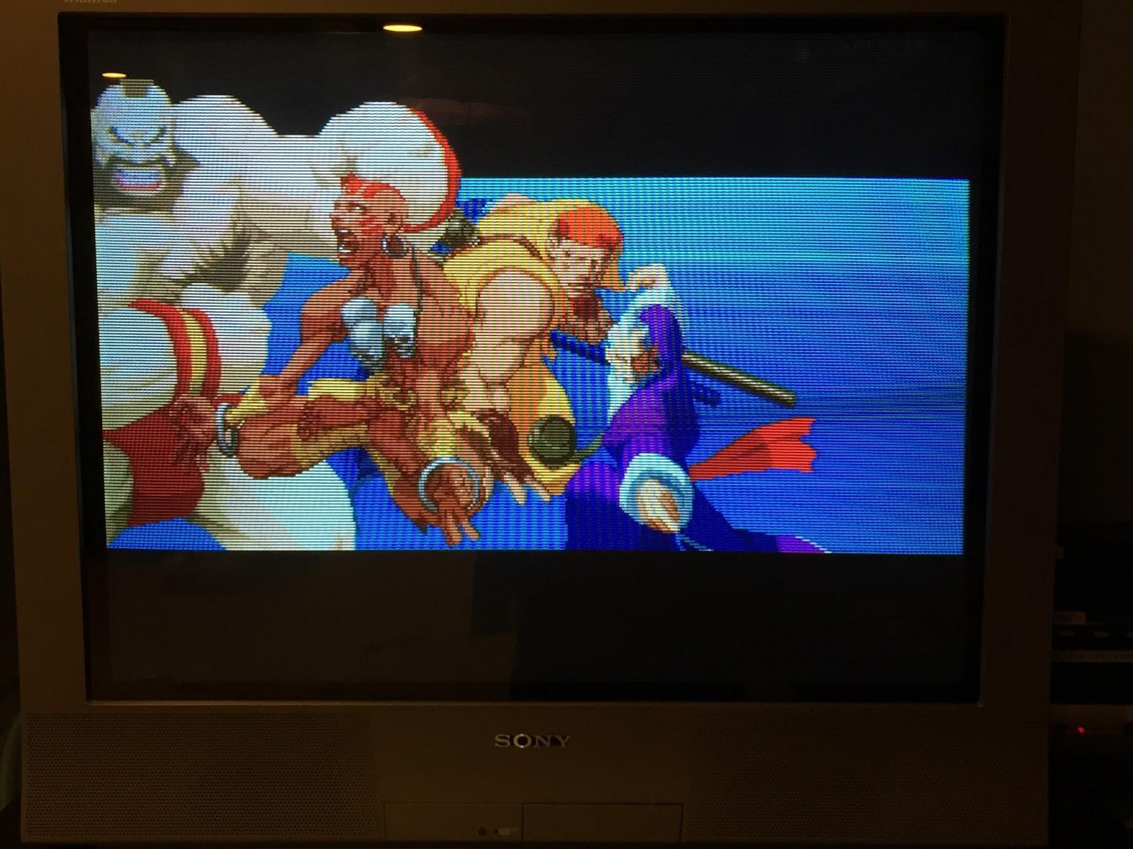 Retro Gamer Randomness: Street Fighter for the Sega Saturn