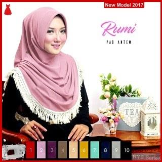 RYB080B Kerudung Jilbab Cantik Instant Murah Rumi BMG Online Shop