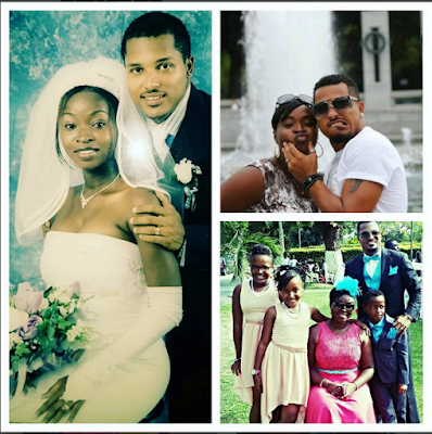 Van Vicker and wife celebrate 13th year wedding anniversary