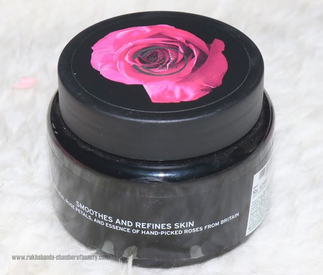 The Body Shop British Rose Body Scrub, The Body Shop British Rose Collection | #BoldsmellsBeautiful, Indian beauty blogger, Chamber of Beauty