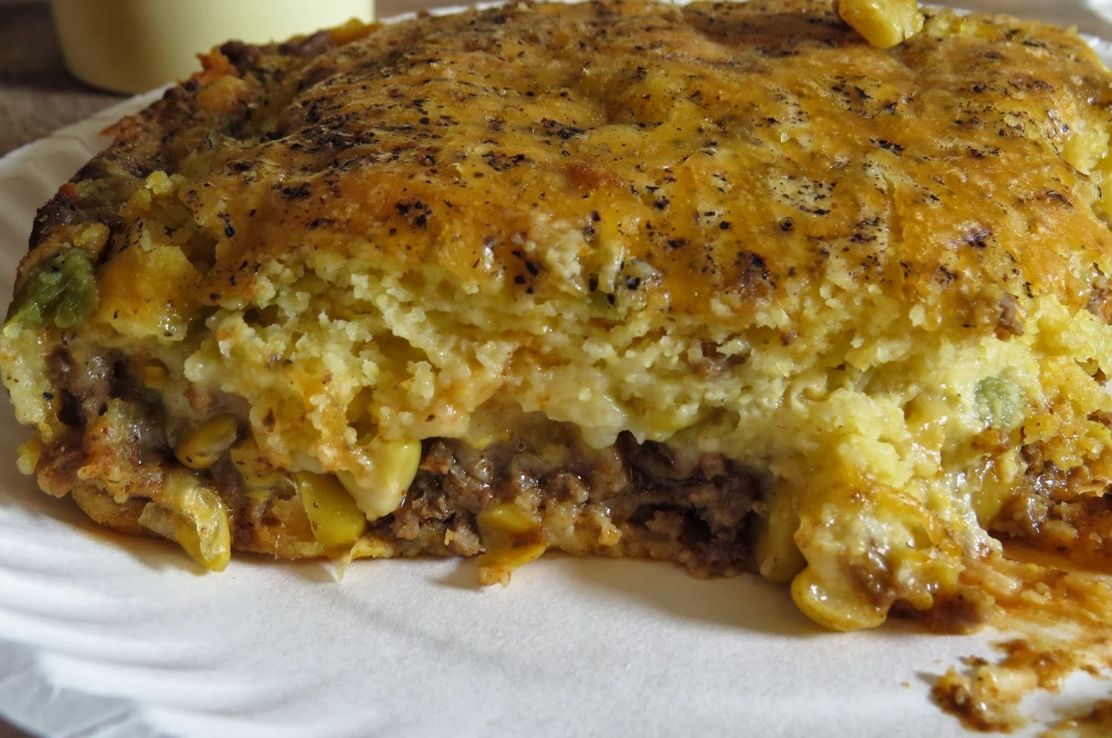 Mexican Cornbread With Ground Beef FOOD AND COOK : Mexica...