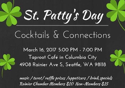 St. Patty's Day Networking in Columbia City!